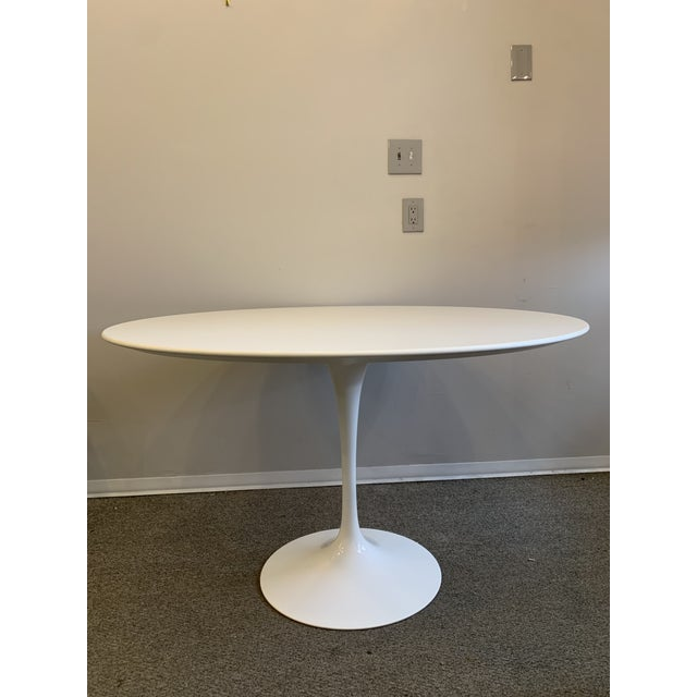 Mid-Century Modern Saarinen Tulip Dining Table for Knoll For Sale In San Francisco - Image 6 of 12