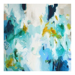Original Abstract Painting on Canvas by Magda Magier