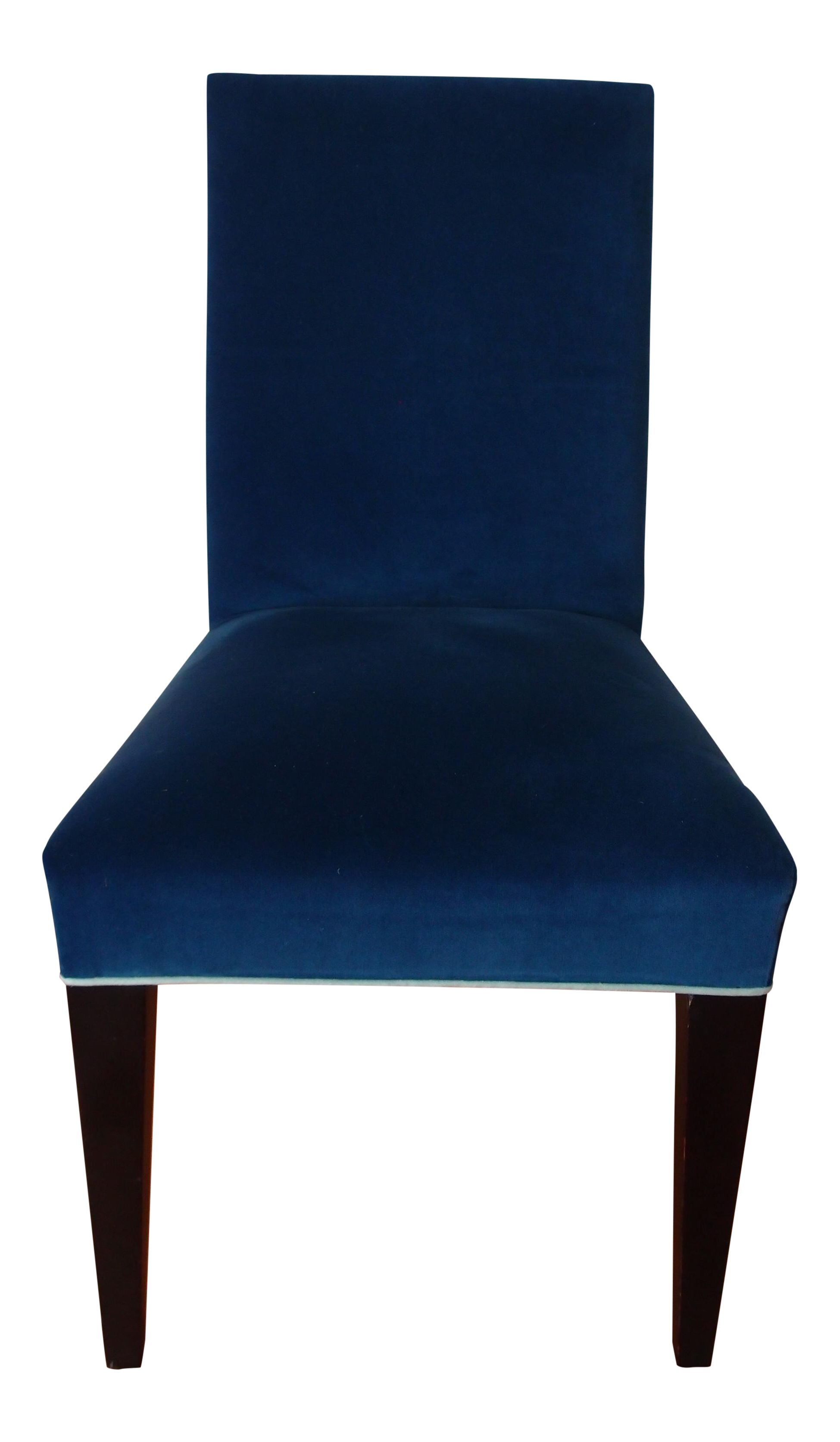 Mitchell Gold Royal Blue Velvet Desk Chair - Image 1 of 5  sc 1 st  Chairish & Mitchell Gold Royal Blue Velvet Desk Chair | Chairish