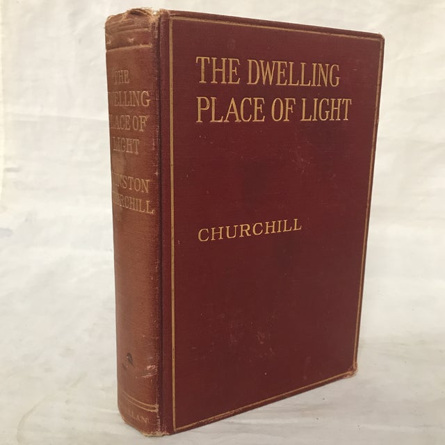 "1910s 1917 ""The Dwelling Place of Light"" Winston Churchill Book For Sale - Image 5 of 5"