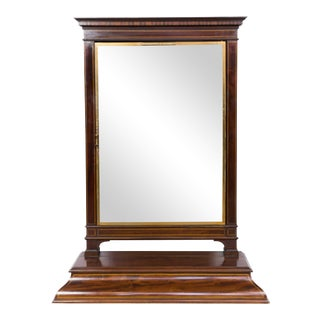 1920s French Triptych Vanity Mirror by Brot For Sale