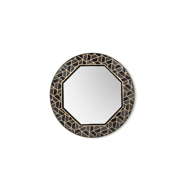 Not Yet Made - Made To Order Tortoise Mirror From Covet Paris For Sale - Image 5 of 5