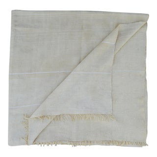 Moroccan Berber Striped Throw For Sale