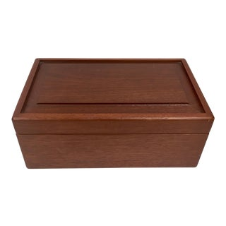 1990s Modern Design Wooden Humidor For Sale