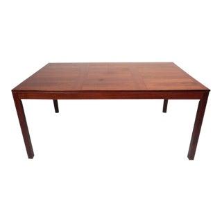 Mid-Century Modern Vejle Stole Mobelfabrik Rosewood Dining Table