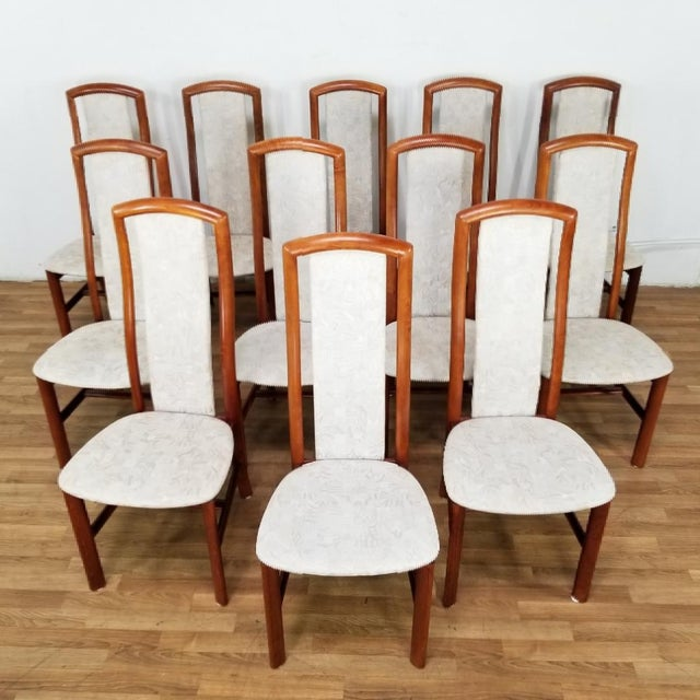 Mid-Century Danish Dining Chairs- Set of 12 For Sale - Image 12 of 12