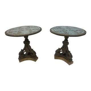 Maison Jansen Gueridon Style Tables - a Pair For Sale