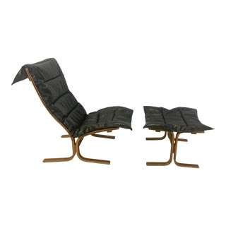Westnofa Sling Lounge Chair With Ottoman For Sale