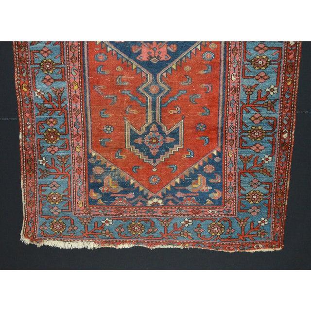 "Vintage Persian Rug - 3'7"" x 6'1"" - Image 4 of 5"