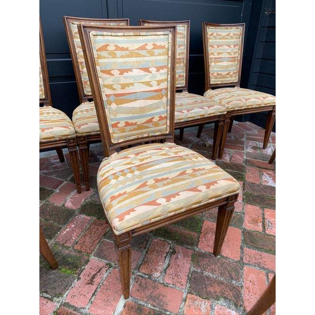 Mid 20th Century Classic Vintage Louis Dining Chairs - Set of 8 For Sale - Image 5 of 11