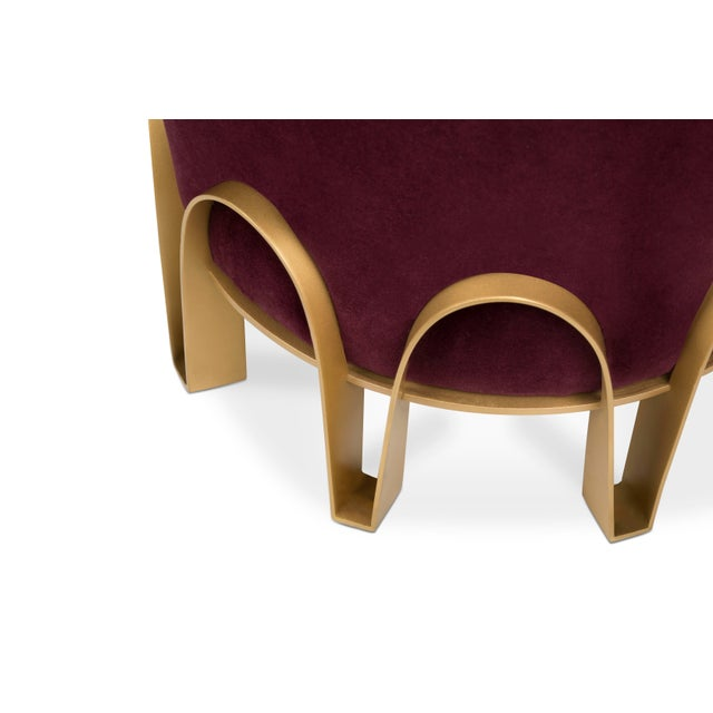 Not Yet Made - Made To Order Nui Stool From Covet Paris For Sale - Image 5 of 8