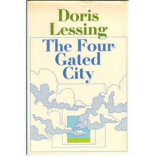 "1969 ""First Edition, the Four-Gated City"" Collectible Book For Sale"