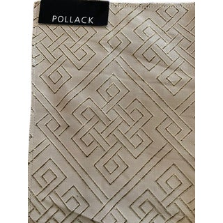 Pollack Endless Knot Silk Fabric-Reversible 71.5 Yards For Sale