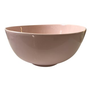 Haeger Pink Pottery Bowl For Sale