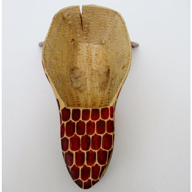 Brown African Giraffe Hanging For Sale - Image 8 of 8