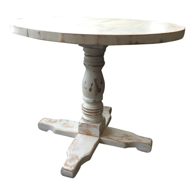 Shabby Chic Style White Dinette Table - Image 1 of 5