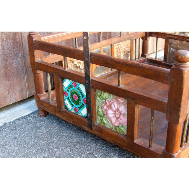 Asian Baby Cradle Swing Table For Sale - Image 3 of 6