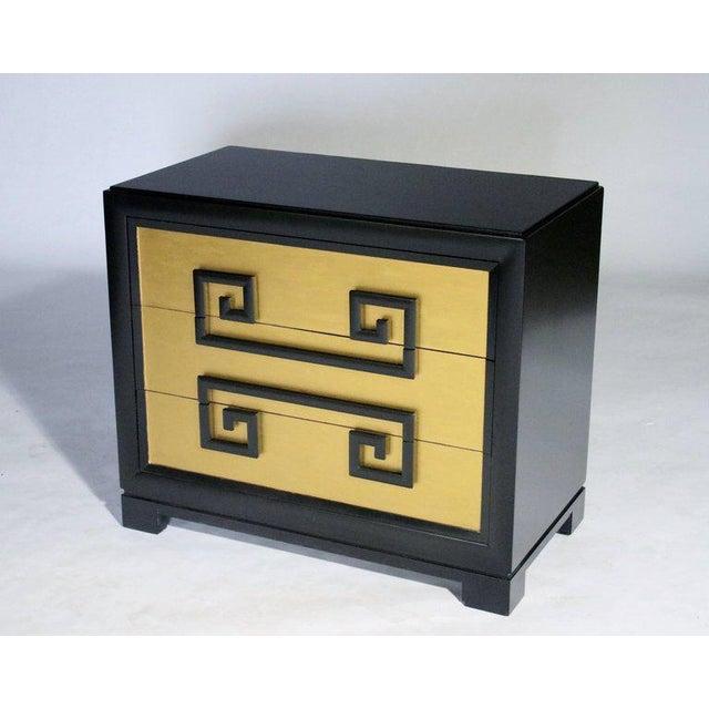 Gold Kittinger Greek Key Chest of Drawers For Sale - Image 8 of 8