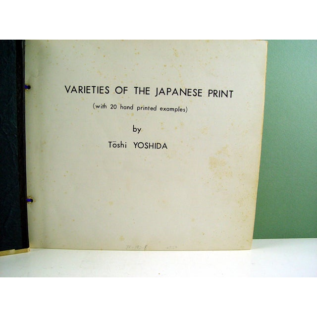 Asian Vintage Varieties of the Japanese Print Book For Sale - Image 3 of 10