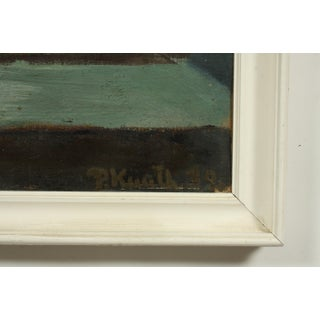 1939 Double Sided Window Still Life Oil Painting by Preben Knuth Preview