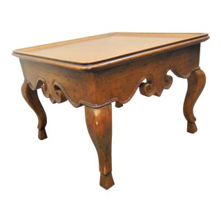 French Style Low Side Table For Sale