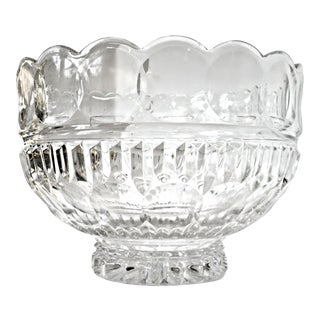 "Fifth Avenue Crystal ""Princeton"" Large Crystal Bowl For Sale"