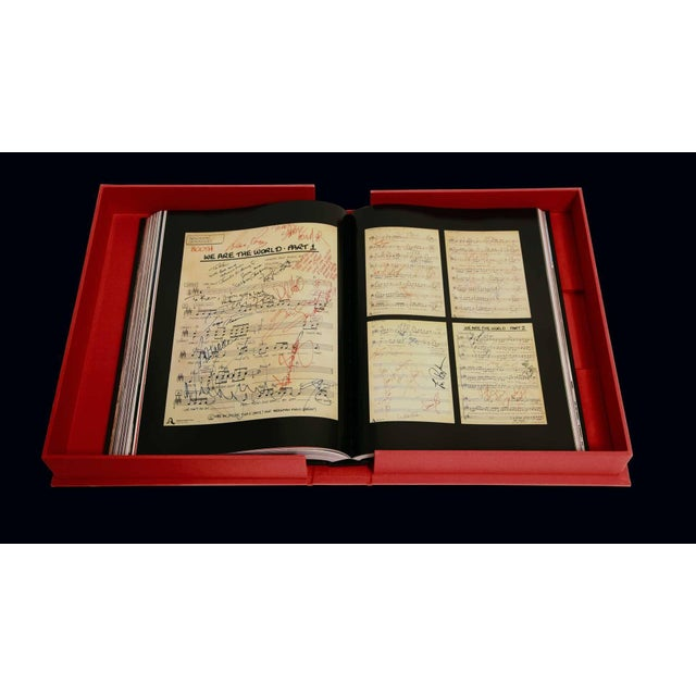 Michael Jackson Opus Large Collector Table Book For Sale In Los Angeles - Image 6 of 11