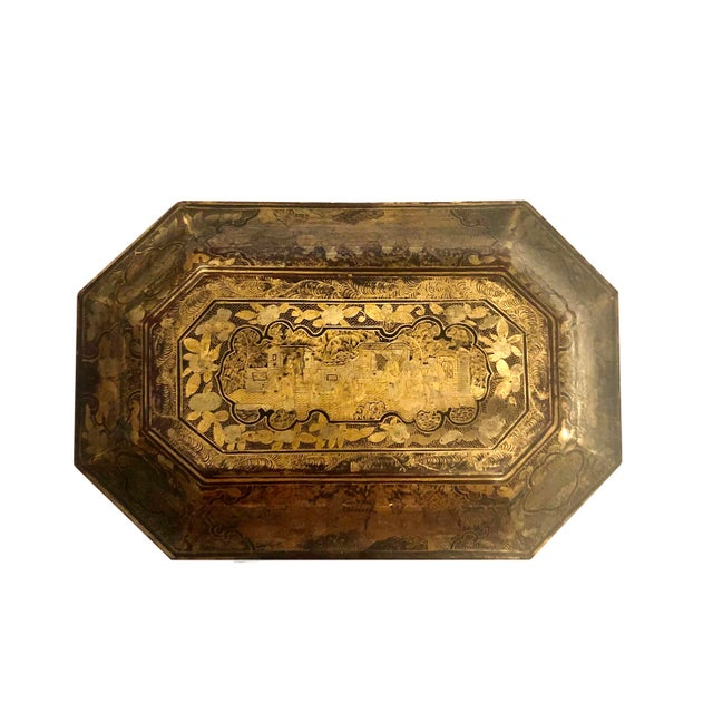 19th Century Chinese Tea Box For Sale - Image 9 of 11
