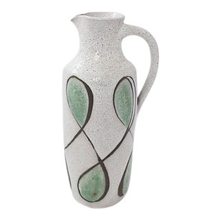 Mid-Century Pitcher Vase For Sale