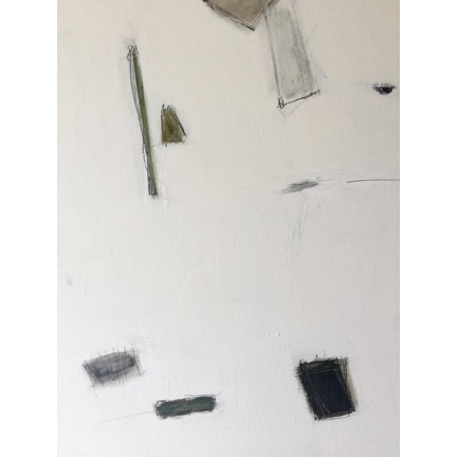 Abstract Painting Blues and Greens For Sale In Miami - Image 6 of 9