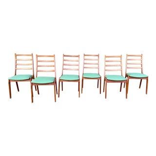 Kai Kristiansen for Korup Stolefabrik Teak Danish Dining Chairs- Set of 6 For Sale