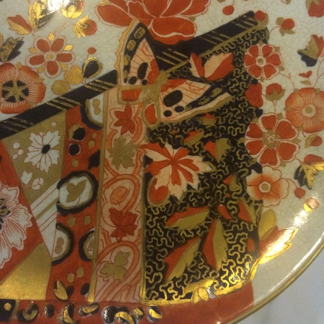 19th-C. Ridgways Old Derby Imari Compote - Image 3 of 6