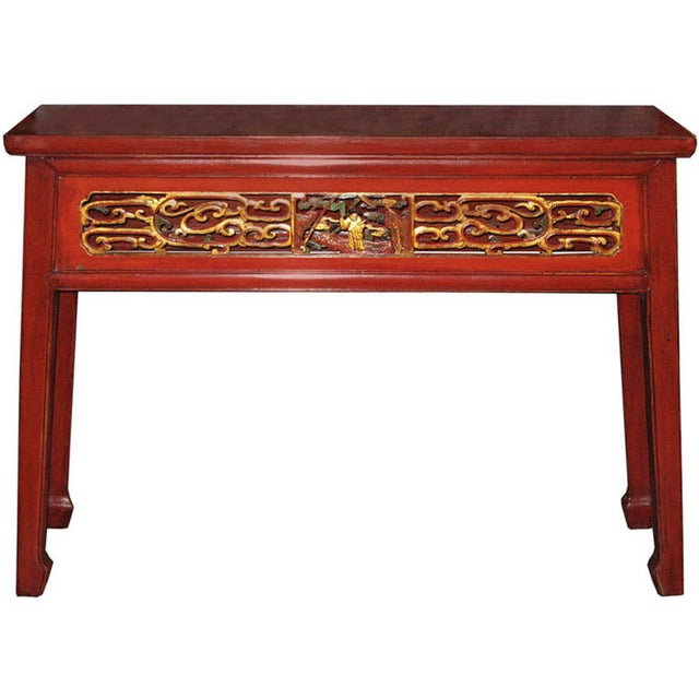Red Fujian Altar Table For Sale