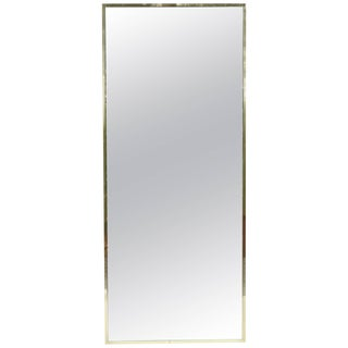 Brass Mirror by Paul McCobb for Calvin For Sale