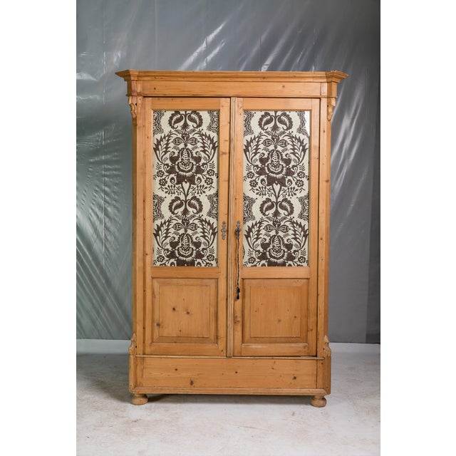19th Century English Pine Armoire - Image 2 of 11