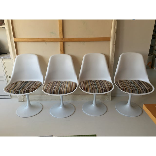 Mid-Century Tulip Dining Chairs - Set of 4 - Image 2 of 9