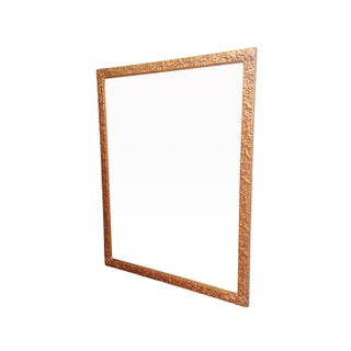 Rectangular Carved Gold Mirror Preview