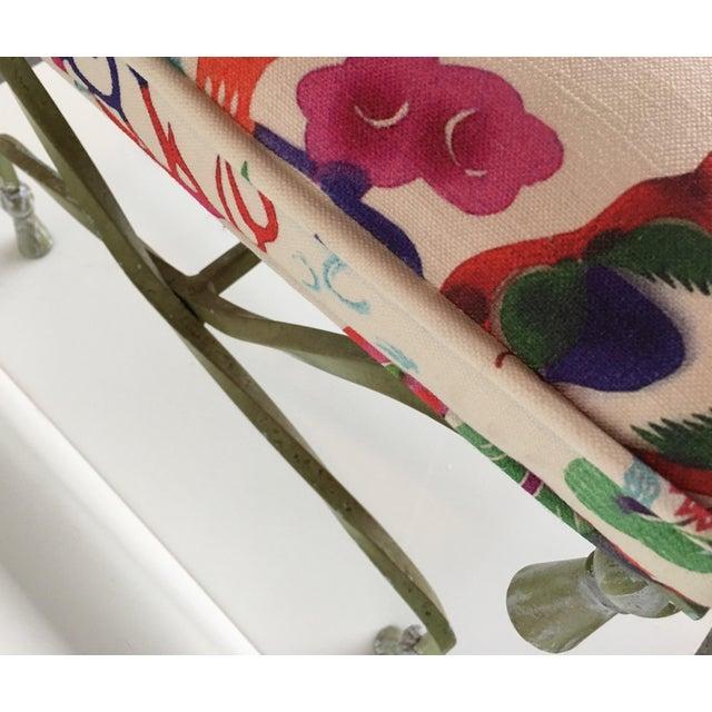 Antique Italian Chinoiserie Tassel Stool - Image 5 of 6