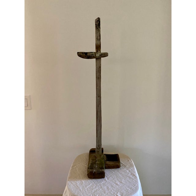 Early 20th Century Antique Oil Lamp Stand For Sale - Image 5 of 11