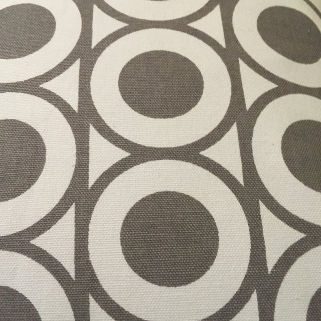Gray & White Geometric Pillows - A Pair - Image 6 of 6