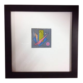 1940s Rolph Scarlett Untitled Geometric Abstract For Sale