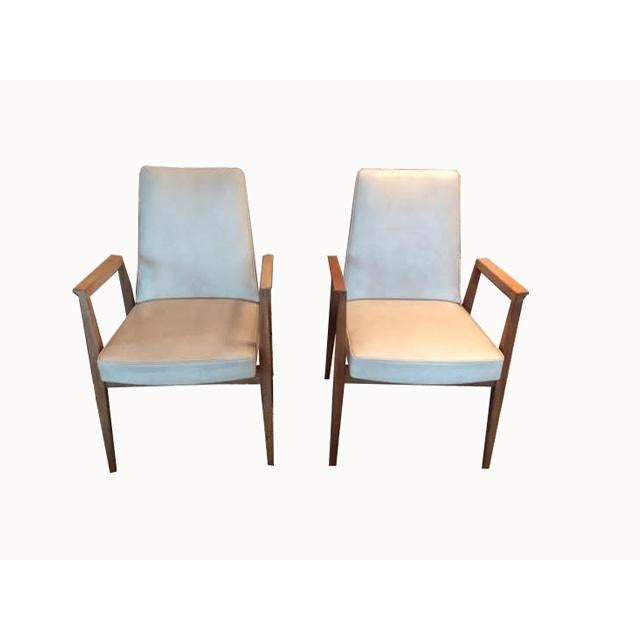 Vintage French Thonet Armchairs - A Pair For Sale - Image 9 of 9