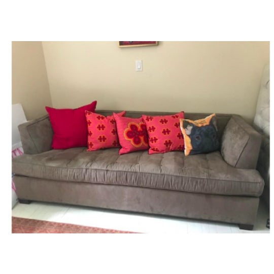 2010s Mitchell Gold+Bob Williams Jordan Sleeper Sofa For Sale - Image 5 of 11