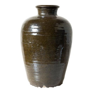 1900s Chinese Terracotta Jar For Sale