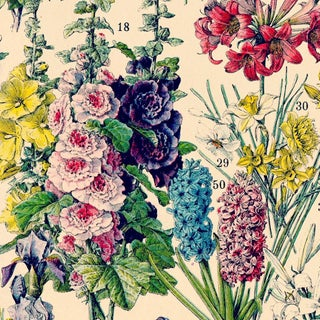 French Flowers Wall Hanging Preview