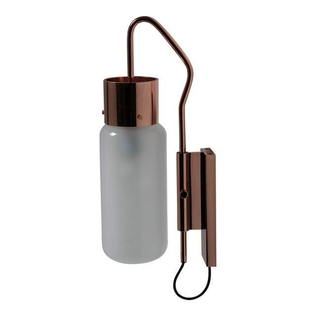 """Rare """"Bidone"""" Wall Lamp by Luigi Caccia Dominioni for Azucena For Sale"""