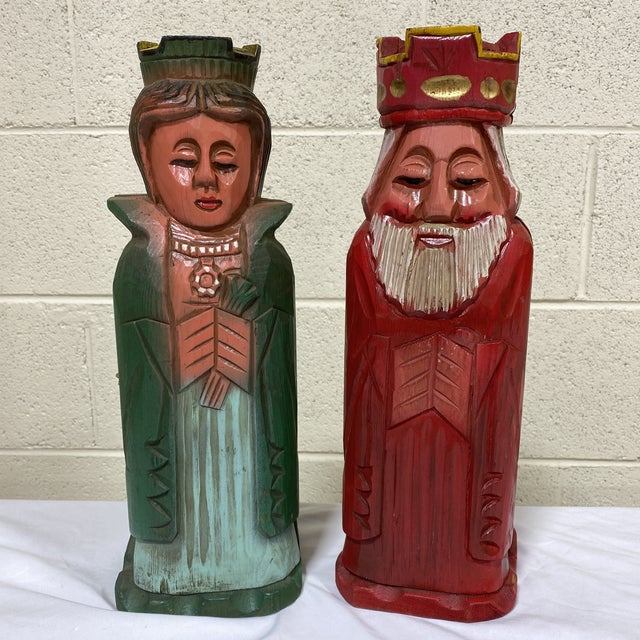 Mediterranean Style Carved Wood Wine Bottle Holders For Sale - Image 10 of 10