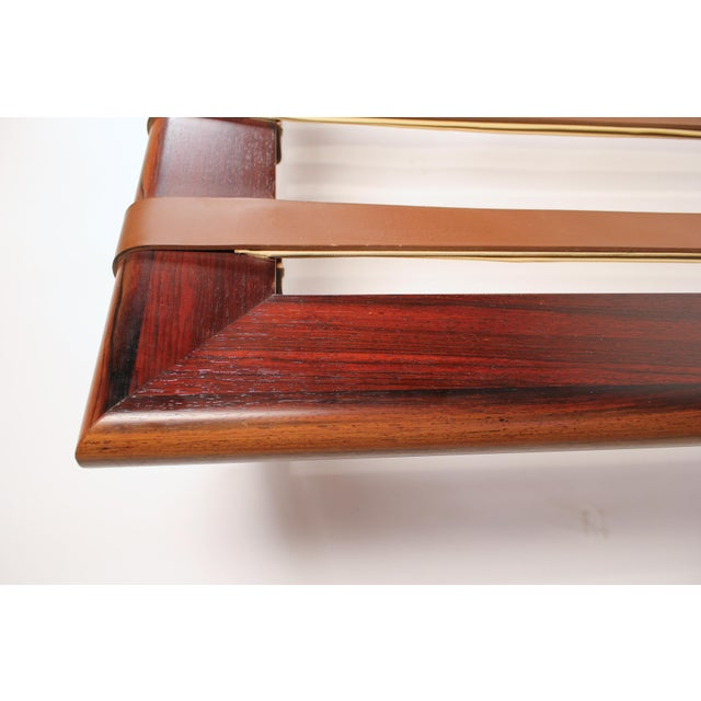 Animal Skin Early Production, Rosewood Daybed Designed by Ludwig Mies Van Der Rohe For Sale - Image 7 of 11