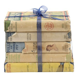 Early 20th Century Antique Young Reader Book Bundle - Set of 5 For Sale