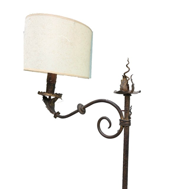 Traditional Vintage Floor Lamp For Sale - Image 3 of 5